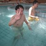 プールに行きました!