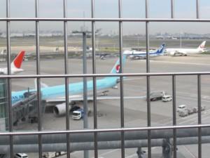 羽田飛行場見学