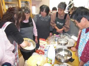 12月クリスマスケーキ作り会
