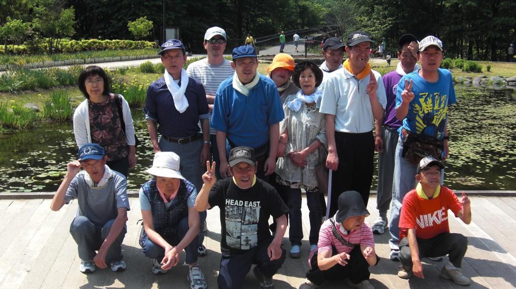 大谷川公園ハイキング