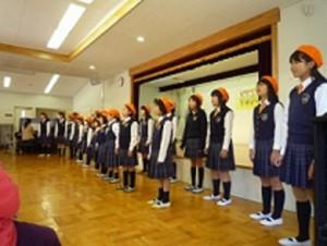 今市少年少女合唱団に来ていただきました