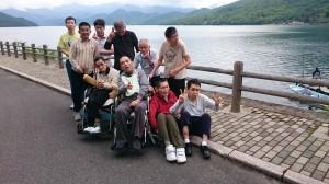 中禅寺湖ドライブ。