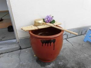 すかい寮 「わさびとからし」の茶道教室(7月)