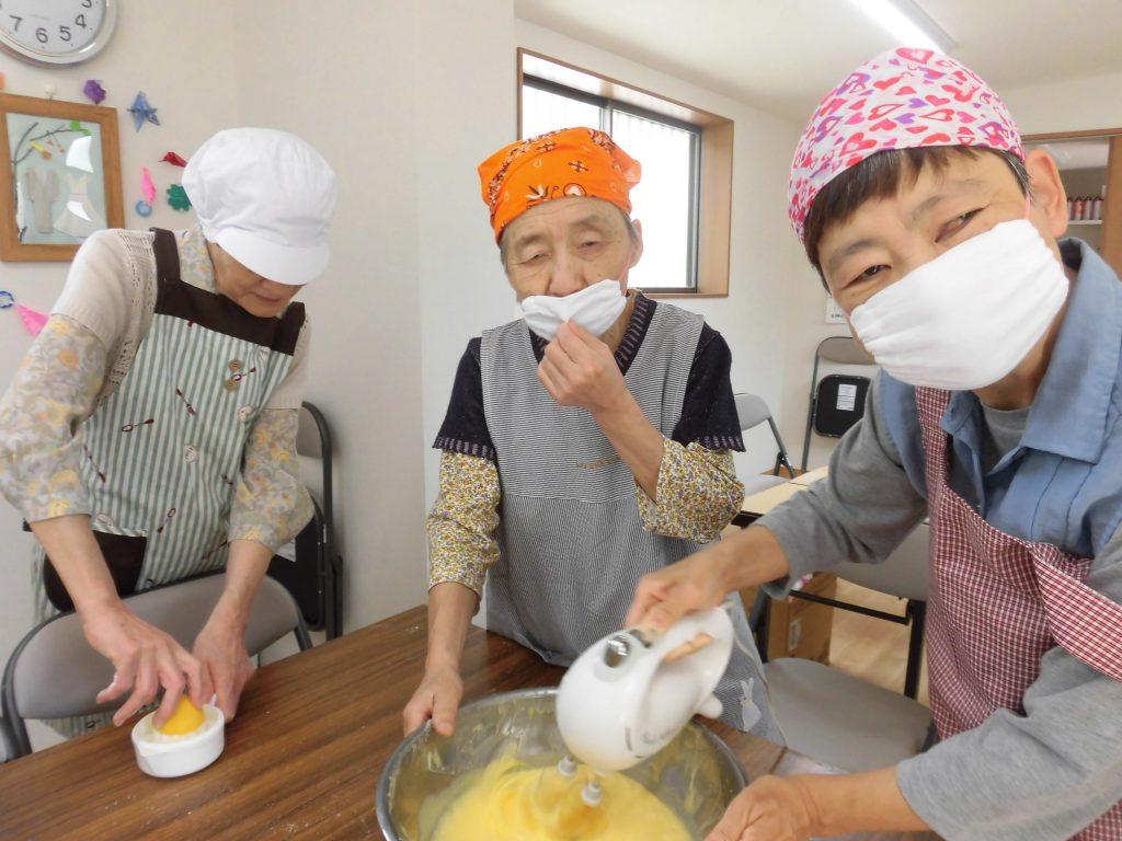 すかい寮 お菓子作り(キャロットケーキ)